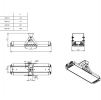 Светодиодный светильник Ex-ДПП 07-182-50-Ш2