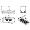 Светодиодный светильник Ex-ДПП 07-156-50-Д120