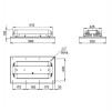 Светодиодный светильник Ex-ДВУ 42-130-50-Д120