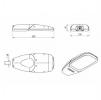 Светодиодный светильник FLA 07A-150-850-WL