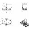 Светодиодный промышленный светильник ДПП 07-68-850-Д120