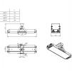 Светодиодный светильник Ex-ДПП 07-182-50-Д120