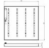 Светодиодный светильник ССВ  28-3100-А-850-Д90 (П)