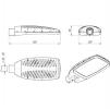Светодиодный светильник FLA 13-70-850-WL
