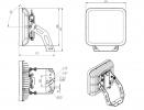 Светодиодный светильник FFL 25-290-740-A1