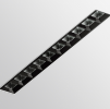 Светодиодный светильник SLOT VZ10.Magic под штукатурку