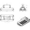 Светодиодный светильник ДПП 17-104-850-Д120