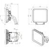 Светодиодный светильник FFL 11-300-850-C120