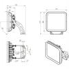 Светодиодный светильник FFL 11-300-850-F30