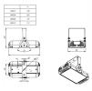 Светодиодный светильник Ex-ДПП 17-156-50-Д120