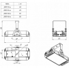 Светодиодный светильник ДПП 07-85-850-К30