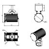 Светодиодный светильник ДСП 27-135-850-К15