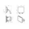 Светодиодный светильник FFL 09-230-850-F30