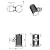 Светодиодный светильник ДСП 28-125-850-Г60