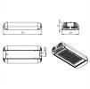 Светодиодный светильник Ex-ДКУ 07-100-50-Ш2