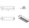 Светодиодный светильник Ex-FSL 07-52-50-K30