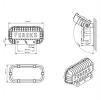 Светодиодный светильник FWL 24-27-W50-C120