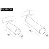 Светодиодный светильник PIXAR 34-50/90-6