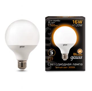 Лампа Gauss LED G95