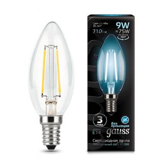 Лампа Gauss LED Filament Candle
