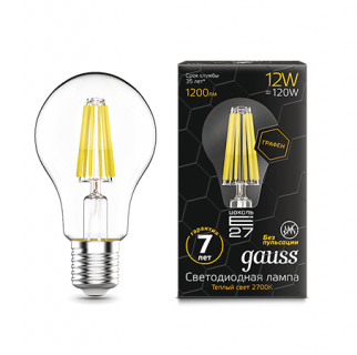Лампа Gauss LED Filament Graphene A60