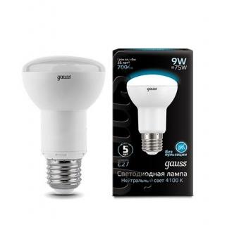 Лампа Gauss LED REFLECTOR R63