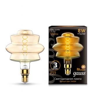 Лампа Gauss LED Vintage Filament Flexible
