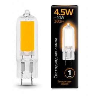 Лампа Gauss LED G4 Glass