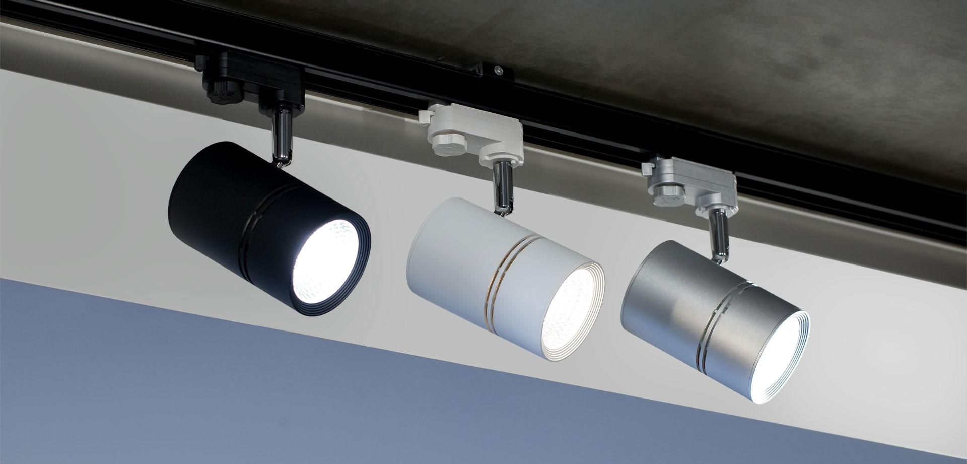 Типы трековых led светильников